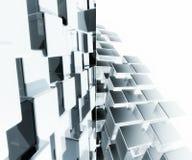 fundo 3D futurista Fotos de Stock Royalty Free