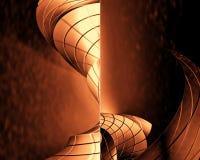 fundo 3D futurista Foto de Stock