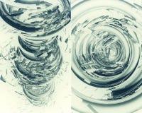 fundo 3D futurista Imagens de Stock