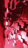 fundo 3D futurista Fotografia de Stock Royalty Free