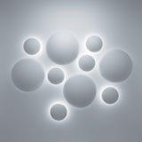 Fundo 3d geométrico abstrato Fotografia de Stock