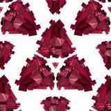 Fundo 3D sem emenda geométrico ilustração royalty free