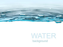 Fundo da água Imagem de Stock Royalty Free