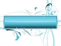 Fundo da água Ilustração Stock