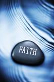 Fundo da água da fé imagens de stock