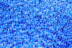 Fundo da água da piscina da foto Fotografia de Stock