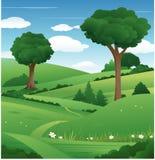 Fundo da árvore da natureza ilustração stock