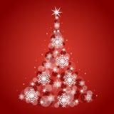 Fundo da árvore de Natal Imagens de Stock Royalty Free