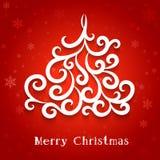 Fundo da árvore de Natal Imagens de Stock