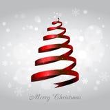 Fundo da árvore de Natal Foto de Stock