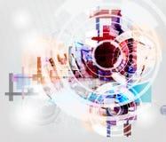Fundo da alta tecnologia Imagem de Stock