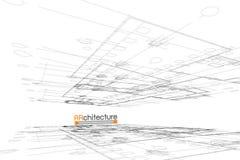 Fundo da arquitetura Foto de Stock