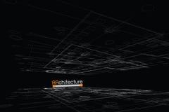 Fundo da arquitetura Imagens de Stock