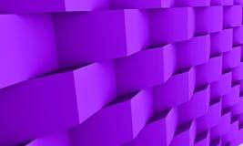 fundo da arquitetura 3d Fotografia de Stock Royalty Free