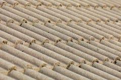 Fundo da arquitetura da textura do telhado de telhas de Brown fotografia de stock royalty free