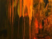 Fundo da arte abstrata Pintura acrílica tirada mão Fotografia de Stock Royalty Free