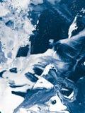 Fundo da arte abstrato, pintura da textura Fotografia de Stock