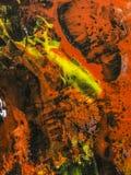 Fundo da arte abstrato, pintura da textura Foto de Stock Royalty Free