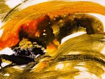 Fundo da arte abstrato, pintura da textura Imagens de Stock
