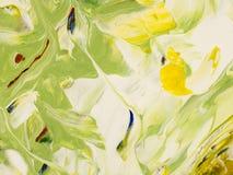 Fundo da arte abstrato, pintura da textura Foto de Stock
