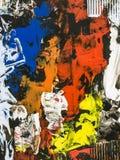 Fundo da arte abstrato, pintura da textura Imagens de Stock Royalty Free