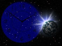 Fundo da astronomia Foto de Stock Royalty Free