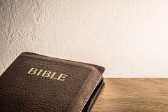 Fundo da Bíblia Fotografia de Stock