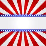 Fundo da bandeira americana Fotos de Stock