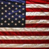 Fundo da bandeira americana dos EUA Fotos de Stock