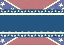 Fundo da bandeira da confederação Fotos de Stock Royalty Free