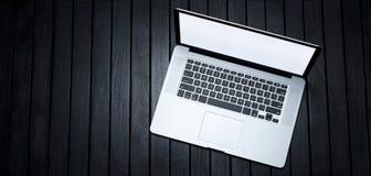 Fundo da bandeira do laptop Imagem de Stock