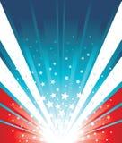 Fundo da bandeira dos EUA ilustração do vetor
