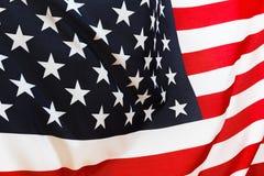 Fundo da bandeira dos EUA, Dia da Independência, símbolo julho de quarto Imagens de Stock Royalty Free