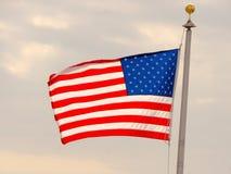 Fundo da bandeira dos EUA Símbolo americano do quarto do Dia da Independência, da democracia e do patriotismo de julho Foto de Stock