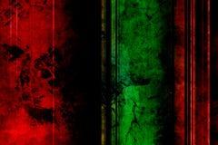 Fundo da barra de cor vermelha e verde imagem de stock royalty free