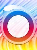 Fundo da beira do círculo do arco-íris Foto de Stock Royalty Free