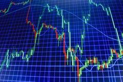 Fundo da bolsa de valores da finança Imagem de Stock Royalty Free