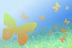 Fundo da borboleta Ilustração Royalty Free