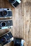 fundo da câmera do vintage Foto de Stock