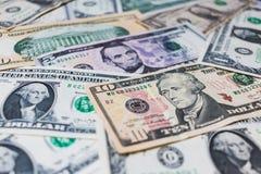 Fundo da cédula do dólar americano Imagem de Stock Royalty Free