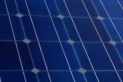 Fundo da célula solar Fotografia de Stock