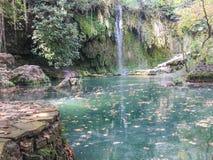 Fundo da cachoeira Fotos de Stock