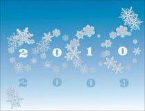 Fundo da celebração do ano novo ilustração do vetor