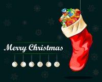 Fundo da celebração do festival do Feliz Natal Fotografia de Stock Royalty Free