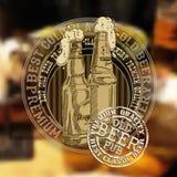 Fundo da cerveja Imagem de Stock Royalty Free