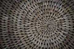 Fundo da cesta de Weave com a luz que shinning completamente Imagem de Stock Royalty Free
