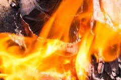 Fundo da chama ou do fogo do borrão Imagem de Stock