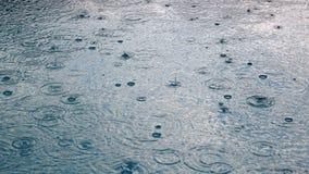 Fundo da chuva Imagem de Stock Royalty Free