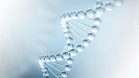 Fundo da ciência do ADN Foto de Stock