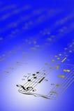 Fundo da contagem da música Imagem de Stock